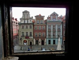 Poznan, Old Square by Cosmata