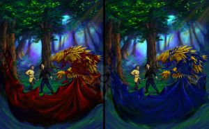 Cover comparison 2 by Scarlet-Harlequin-N