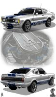 Ford Taunus Cobra by Mr-Shin