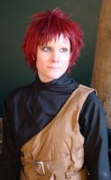 Gaara: Start of a Smile? by SoaringVisions