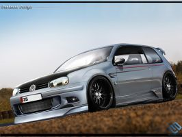 DarknessDesign- Golf MK4 by DarknessDesign