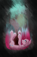 There's only way down... Pinkamena by AviAlexis25