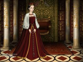 Anne Boleyn by BellatrixStar88
