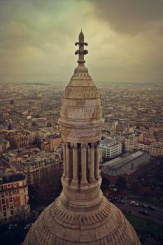 From Montmartre, Paris 2015 by morsiela