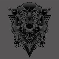 The Courage Wolf by Hydro74 by Design-By-Humans