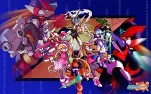 Megaman ZX Wallpaper by XReaper666