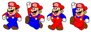 Mario In Fortran Sprites by NinSeMarvel