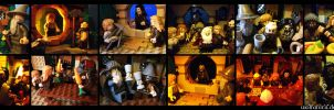 Hobbit LEGO Play Time by wolfanita