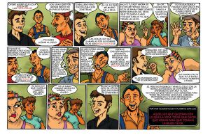 Comic strip 1 finished by vicrosman