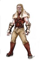 OHOTMU Redux Sabretooth redesign by Smashed-Head