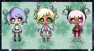 [CLOSED] Floral Set by Tako-Yucky