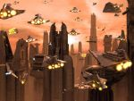 Coruscant Launch-Final Version by 1darthvader