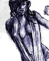 Female sketch 2 WC-filtered by Chaleks