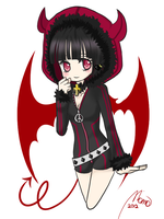 Embie's TinierMe Commision by momo5596