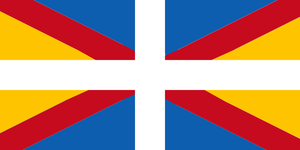 Flag of the United Kingdom of Spain and Greece by 3D4D