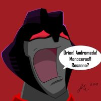 Starscream Screaming Stars by J-Nanasca