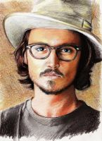 Johnny Depp by ShadCarlos