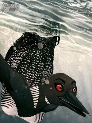 Iron Artist 038 - Loon by Plaguedog