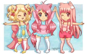 Pinku pink friends contest entry :D by SweetxSnowxDream