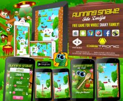 Running Snake (Ide Zmija) FREE ANDROID GAME 2014 by djnick2k
