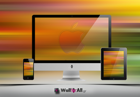 colour_lines_apple by WallforAll