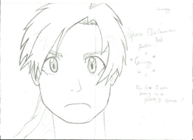 Alphonse Elric Sketch by Galukxys