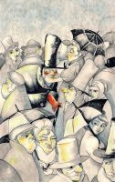 The man of crowd 3 by Breloque