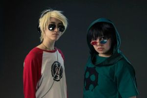 Anime North 2013 - Dave and Sollux 2 by EZsCosplays