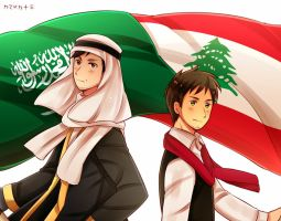 APH Saudi Arabia and Lebanon | AT by Kamadoka13