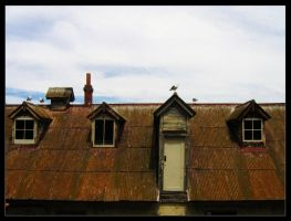 Deteriorating Roof by m0nst3r