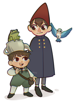 Over the Garden Wall by Boddbby
