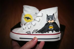 Batman Baby Shoes by Helenhsd