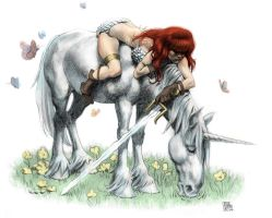 Red Sonja by Sirspamdalot