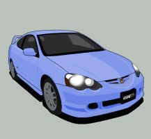 INTEGRA Type R-vector by MobileSuitGio
