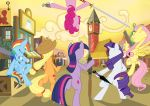 The Mane 6 by Stormclad