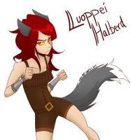 Luoppei Halberd: Point Commission Pt 1 by EerieIdeal