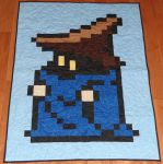 Black Mage Quilt by quiltoni
