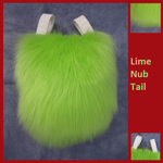 Lime Nub Tail by Lascivus-Lutra
