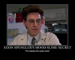 Egon Spengler motivational p.. by ThexBrokenxKnightx