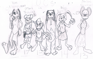 Toon OC Group by Toonimizer