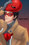 Otakuthon Print: Red Hood: White hair version by BurningArtist
