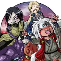 Legendary Sannin by zenia