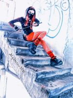 cyber goth III by mysteria-violent