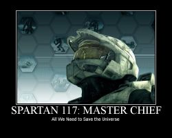 Halo Motivational: All We Need by 0ArmoredSoul0
