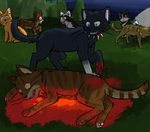 Tigerstar's Death by N0rth3rn