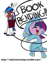 Book bending! by bunnimation