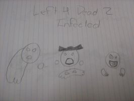 Left 4 Dead 2 Infected Doodle by tyranno-tycoon