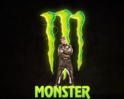 ken block with monster by rollr