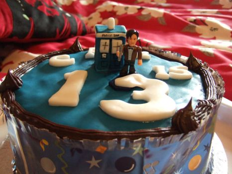 Doctor Who Cake by Mazzi294