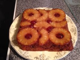 Gluten-Free Pineapple Upside Down Cake by Charley-Blue